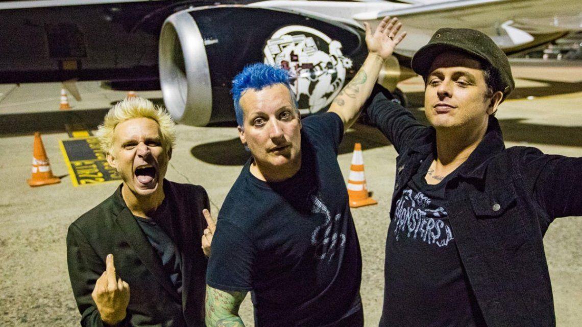 Green Day presentó nuevo tema y anunció una enorme gira