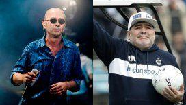 El mensaje de apoyo del Indio Solari a Diego Maradona: Gimnasia es como Boca en La Plata