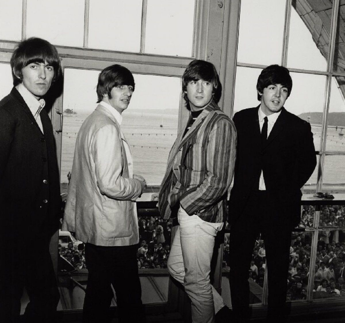 Paul McCartney y Ringo Starr harán un cover de John Lennon