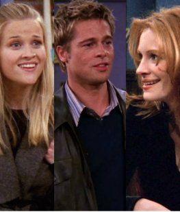 Quiénes fueron los famosos que actuaron en Friends