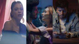 Tini y Yatra estrenaron el video de Oye: el beso del cantante con una rubia