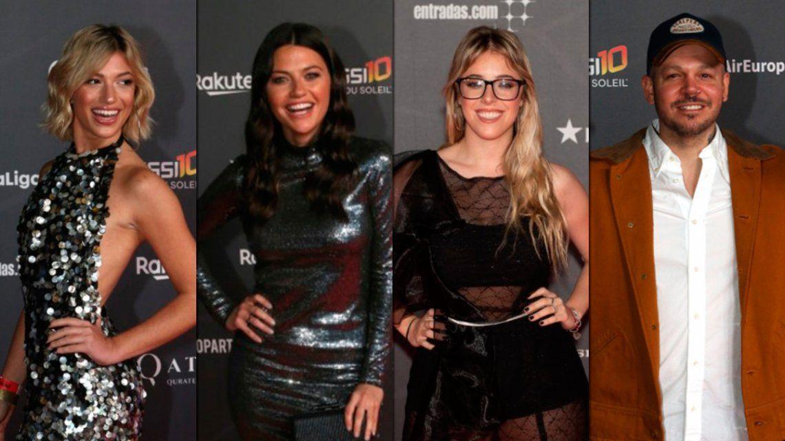 Los looks de los famosos en el estreno de Messi10