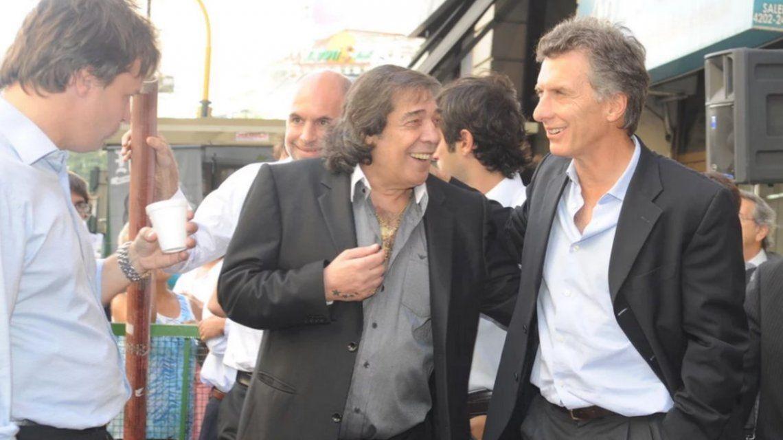 El mensaje de Mauricio Macri por la muerte de Cacho Castaña