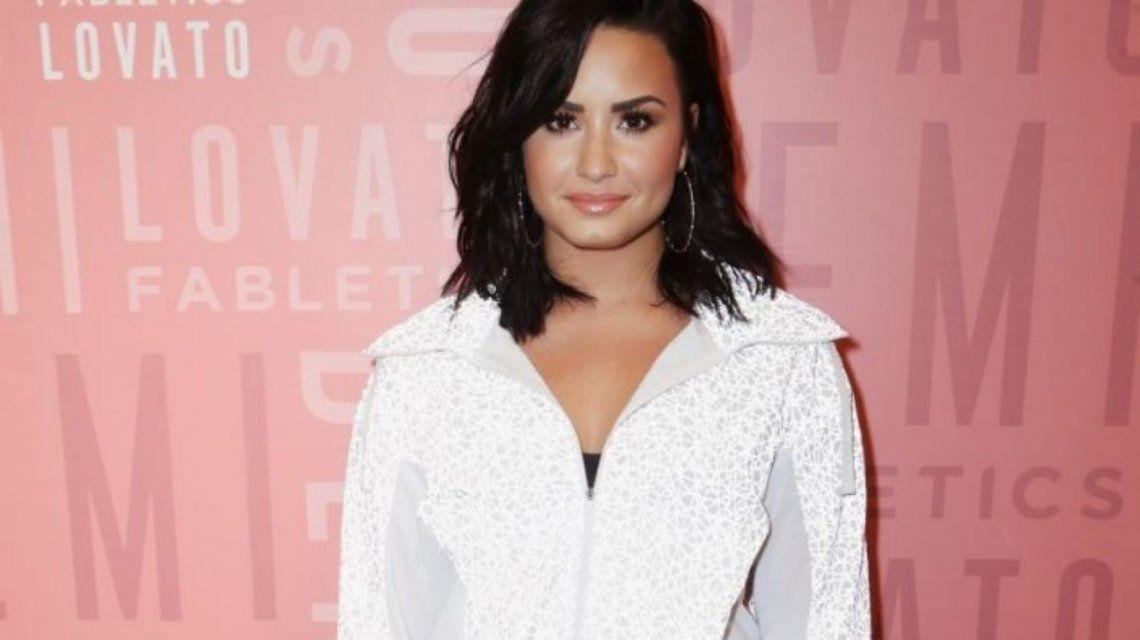 Filtraron fotos de Demi Lovato desnuda