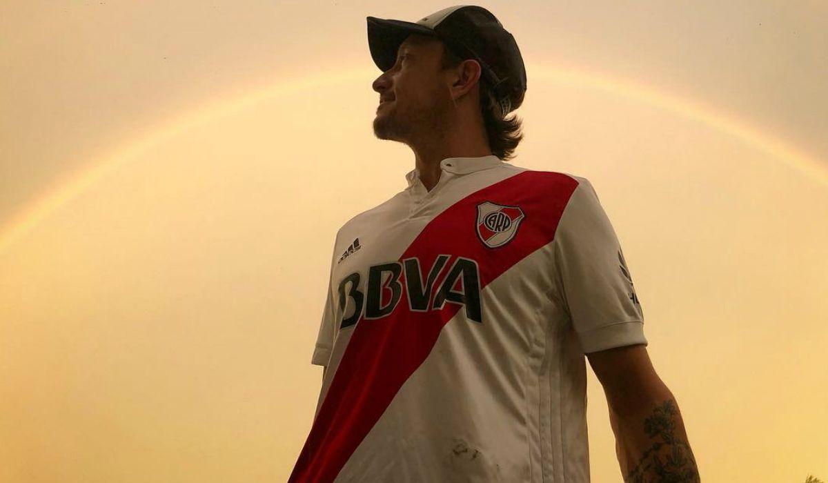 Locura en el aire: así vio Nico Vázquez la clasificación de River a la final de la Copa Libertadores