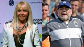 Contundente respuesta de Claudia Villafañe a Diego Maradona: Espero que tengas huevos para presentarte en el juzgado