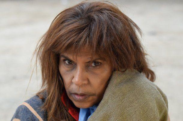 Anama Ferreira como la Difunta Correa