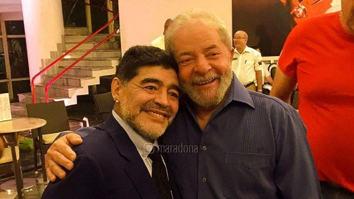 Lula Libre: Maradona y varios famosos celebraron la excarcelación