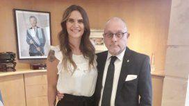 La reunión de Amalia Granata y el canciller Jorge Faurie