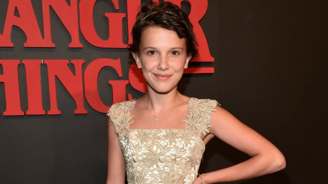 El impactante cambio de look de Millie Bobby Brown