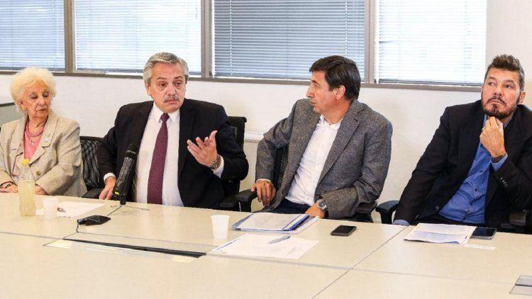 Marcelo Tinelli agradeció a Alberto Fernández por invitarlo al Observatorio contra el Hambre