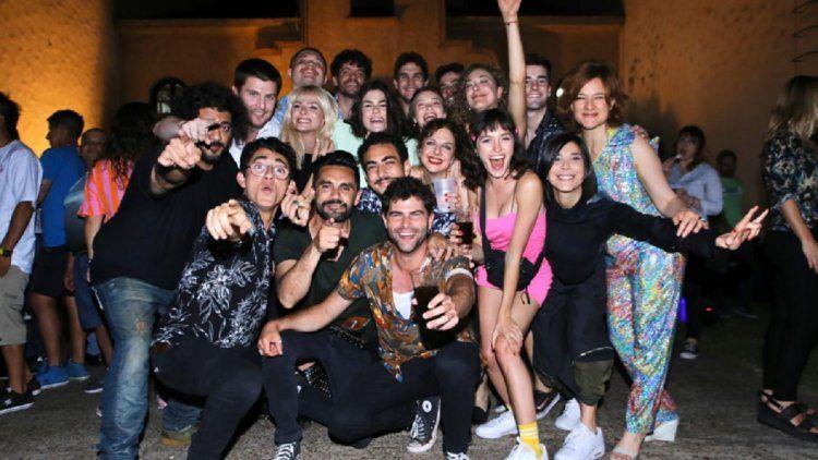 Las fotos de la fiesta del final de grabación de ATAV