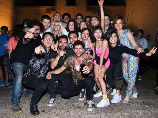 las fotos de la fiesta del final de grabacion de atav