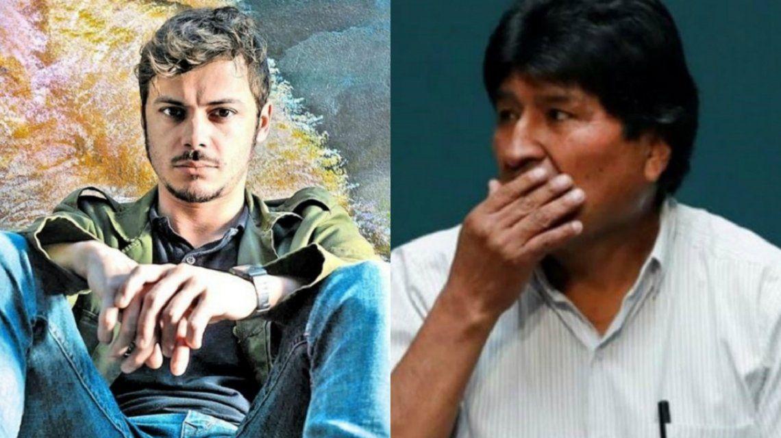 Tomás Fonzi contó cómo fue su encuentro con Evo Morales