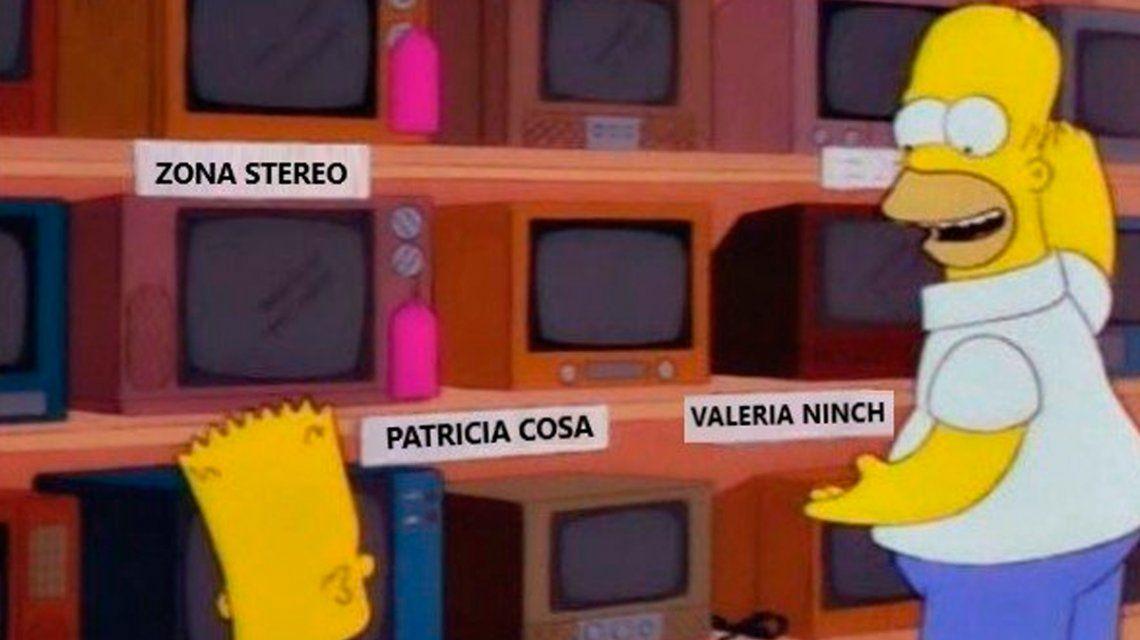 Los memes de Valeria Lynch, ahora Ninch