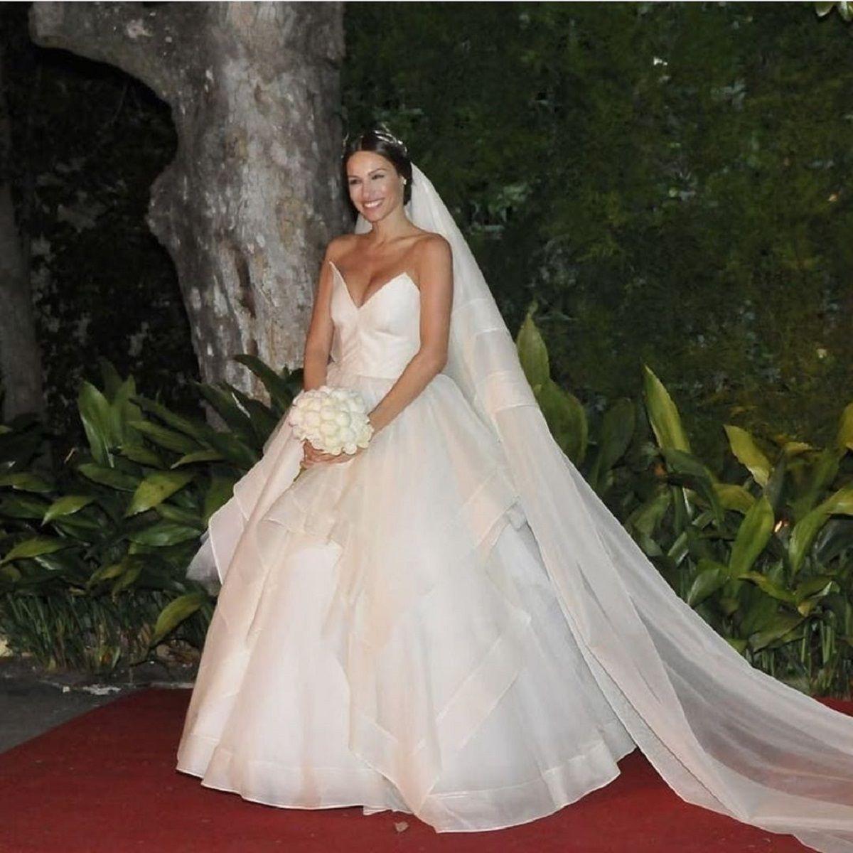 Emocionante: el pedido de Pampita a su hija Blanca antes de su casamiento