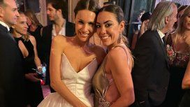 VIDEO: el look de Floppy Tesouro en la boda de Pampita, sin ropa interior