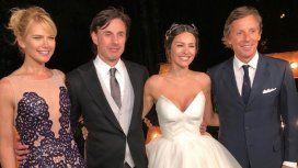 El look de los famosos en la boda de Pampita