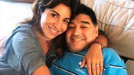 El emotivo posteo de Gianinna Maradona sobre Diego y su hijo Benjamín