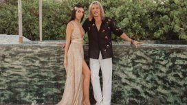 VIDEO: La novia de Claudio Caniggia, ¿embarazada?