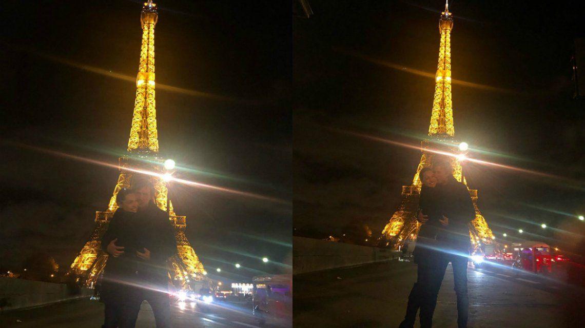 Las primeras fotos de Pampita y Roberto García Moritán de luna de miel en París