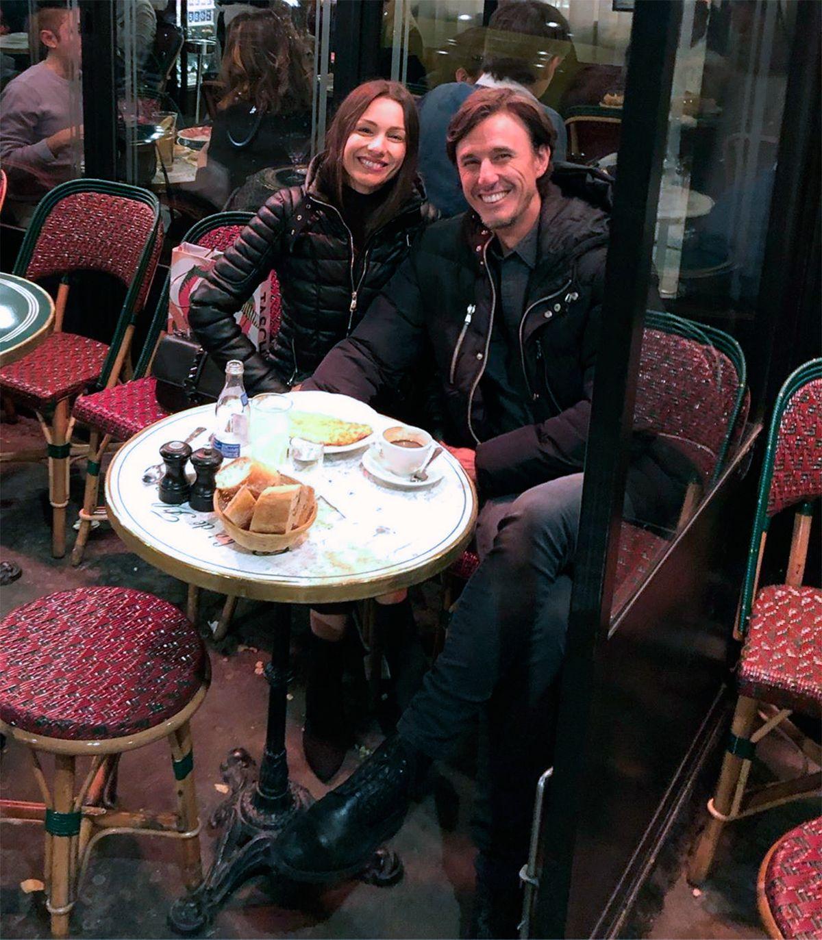 Muchas risas y puro amor: así fue la luna de miel de Pampita en París