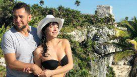 Las fotos de la luna de miel de Mercedes Funes y Cecilio Flematti en Tulum
