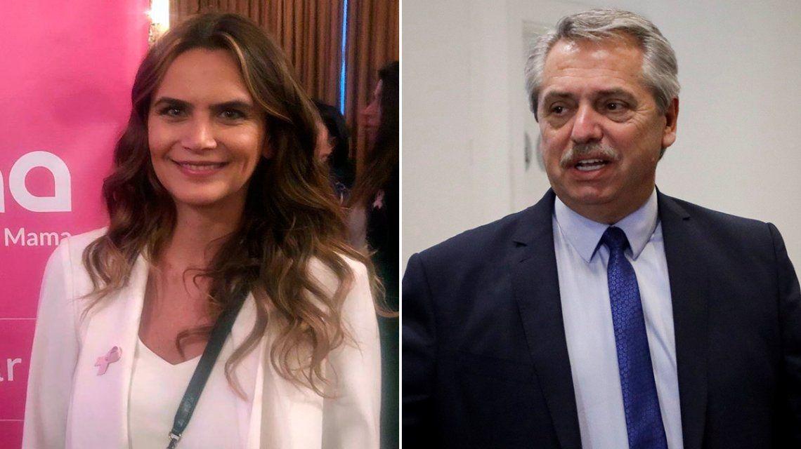 La indignación de Amalia Granata por la asunción de Alberto Fernández