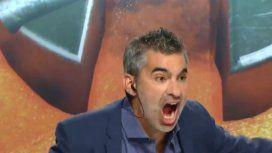 Insólito: el periodista Guido Glait enloqueció y festejó en vivo a los gritos el gol del Pity Martínez a Boca