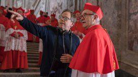 Fernando Meirelles, en plena filmación de Los dos papas (gentileza Netflix)