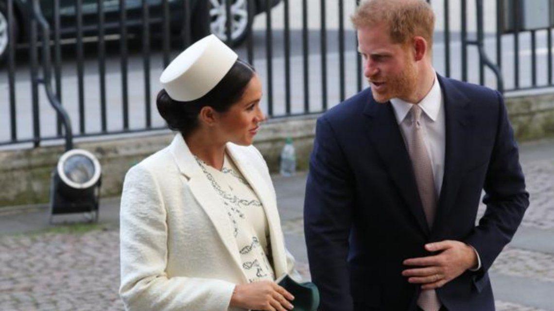 La Navidad de Meghan Markle y el príncipe Harry, lejos de la familia real
