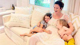 Paula Chaves confirmó su embarazo: Vamos a ser 5