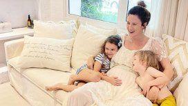Las primeras fotos de la pancita de Paula Chaves: Preparándome para el nacimiento