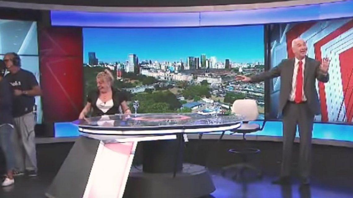 Insólito momento en el programa de Mauro Viale: apareció una rata en vivo