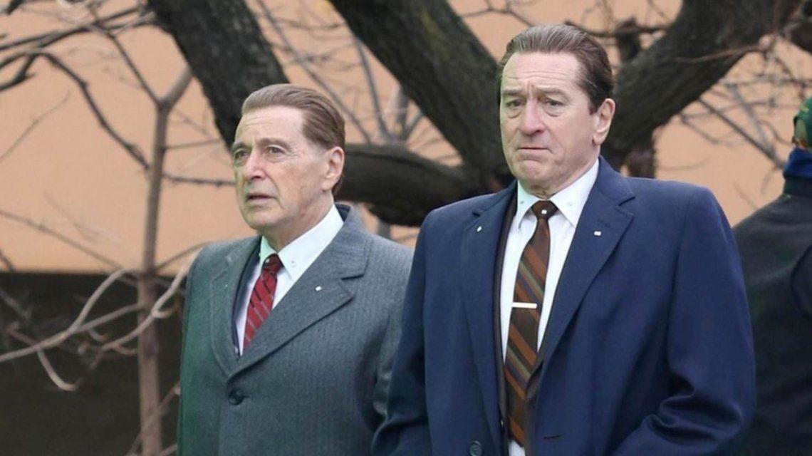 VIDEO: así rejuvenecieron a Robert De Niro y Al Pacino en El Irlandés