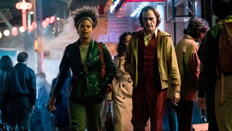 Sophie y Arthur en Joker