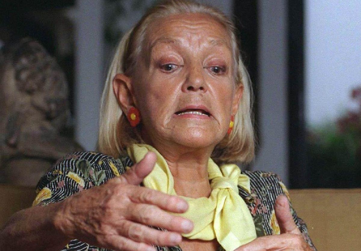 Murió la polémica actriz Elena Cruz
