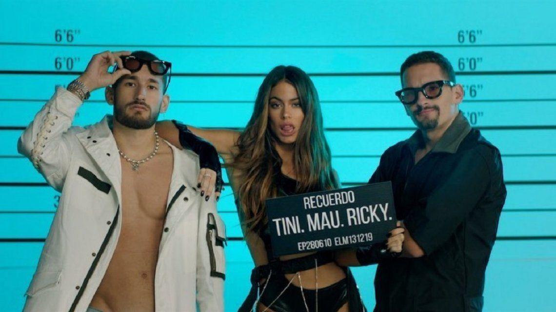 El video sexy de Tini Stoessel para promocionar Recuerdo