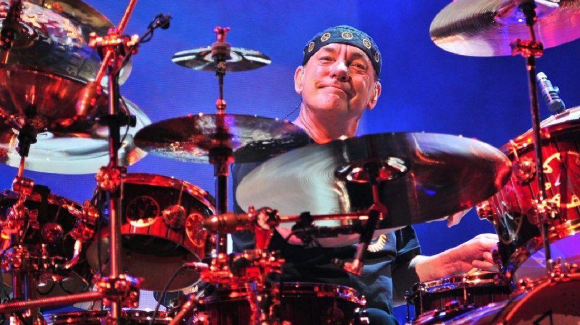 Murió Neil Peart, el legendario baterista de Rush