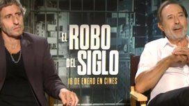 Diego Peretti y Guillermo Francella: ¿cómo se pusieron en la piel de los protagonistas de El robo del siglo?