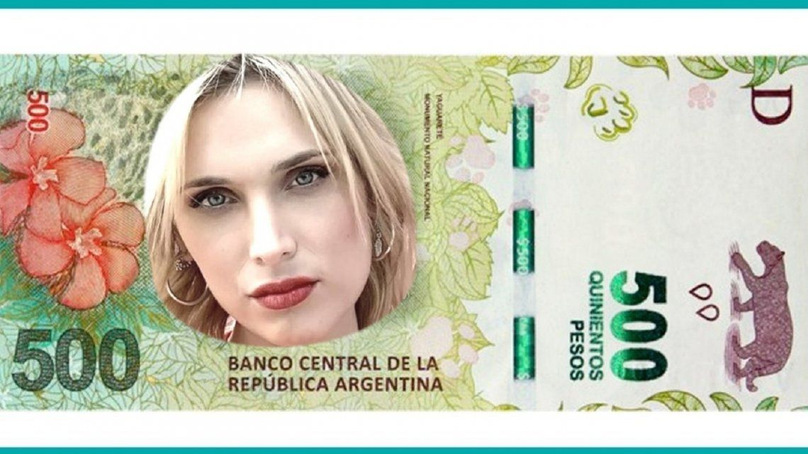 Un televidente de C5N diseñó billetes con los rostros del staff de Bien de sábado