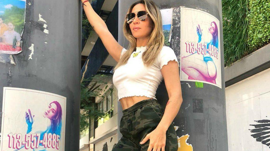 Polémica con Jimena Barón: publicitó su nuevo tema con afiches de servicios sexuales