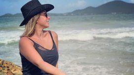 Fernanda Vives escrachó a su marido futbolista con una foto en tanga