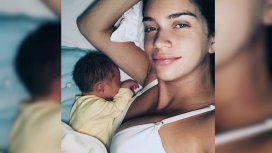 Zaira Nara mostró por primera vez la cara de su hijo Viggo Silvestre Von Plessen