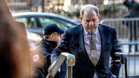 Internaron a Harvey Weinstein horas después de la condena por violación