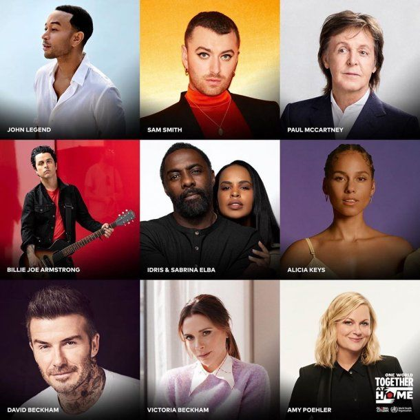 De Paul McCartney a David Beckham: amplia cantidad de personalidades en el festival One World: Together at Home contra el coronavirus