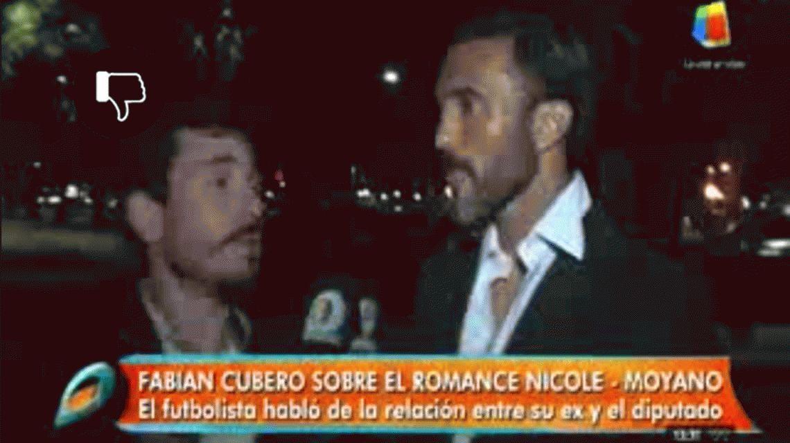 Poroto Cubero sobre Nicole y Moyano