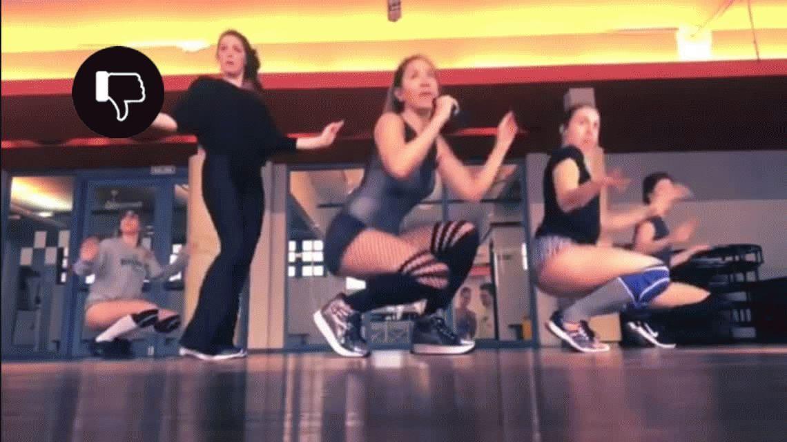 VIDEO: Jimena Barón, sensual en la preparación de su show