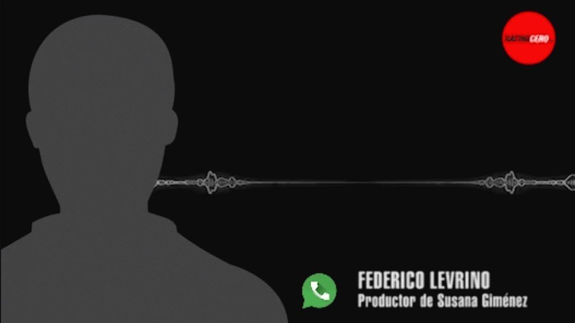 El audio de Levrino contra Susana