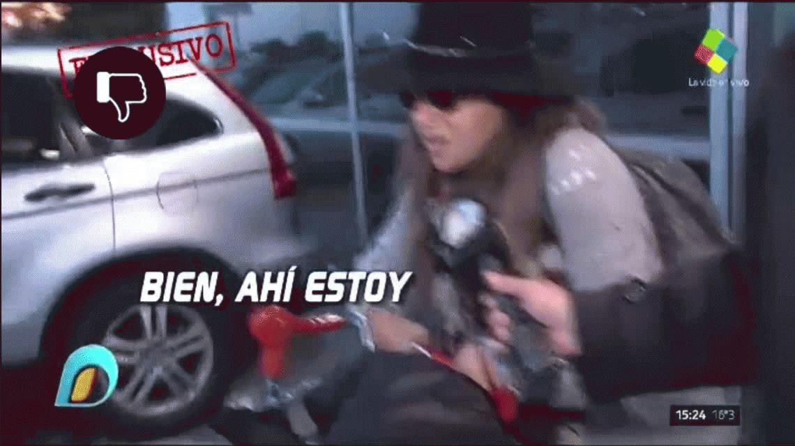 Gianinna Maradona amenazó a Rocío Oliva por su hijo Benjamín